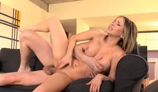 Massaged eurobabe buttfucked
